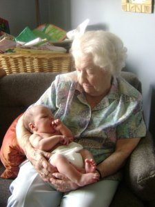My Grandmother and my Neice
