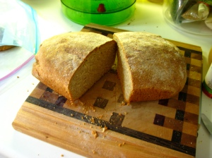 whole wheat honey loaf
